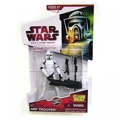 "Star Wars Clone Wars Animated Figure ARF Trooper Aprox 4"""