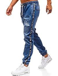 1dc4699e1e BOLF Hombre Pantalones Jogger Estilo Urbano Bolsillos 6F6 Motivo