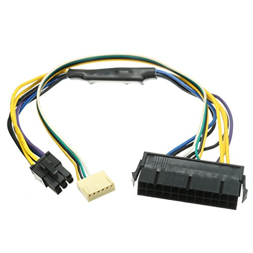 Tutoy 24Pin Zu 2-Port 6Pin 18 Awg Atx Psu Stromkabel Für Hp Z220 Z230 Sff Mainboard