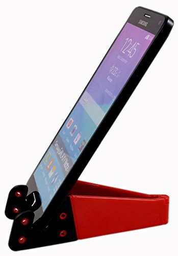Parallel Universe Pocket Size V Smart Phone Holder Flat Stand For Mobiles,Tablets and iPads  available at amazon for Rs.179