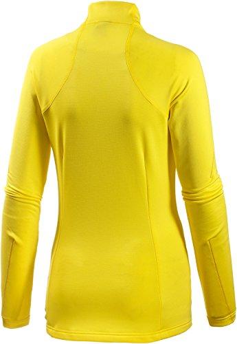 Funzione donna adidas Performance maglietta a maniche lunghe giallo