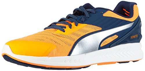 Puma Ignite V2, Chaussures de Course Homme Orange (Orange Pop/Blue Wing Teal/Silver)