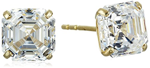 10k-yellow-gold-asscher-cut-swarovski-zirconia-stud-earrings