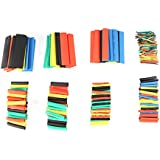 328Pcs Mixed Color 2:1 Heat Shrink Tube Combo Sleeves Tubing Wrap Sleeving Assortment Electrical Wire Cable