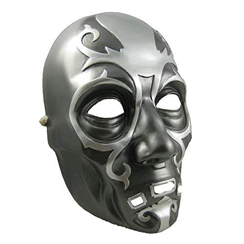 DYMAS Harz-Maske-Harry-Potter-Todesser Maske