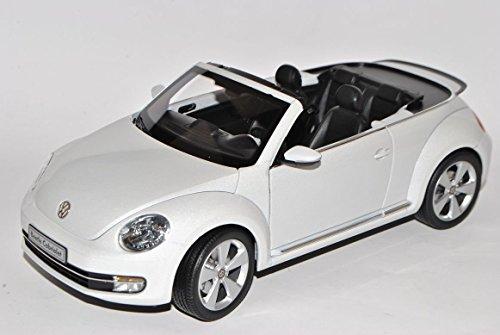 vw-volkswagen-beetle-cabrio-oryx-weiss-ab-2012-1-18-kyosho-modell-auto-mit-individiuellem-wunschkenn