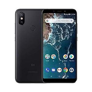 """Xiaomi Mi A2 - Smartphone Android One (Pantalla FHD de 5,99"""", Qualcomm Snapdragon 660 a 2,2 GHz, RAM de 6 GB, ROM de 128 GB y cámara dual de 12 + 20 MP) Color negro [Versión española]"""