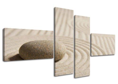 Quadro su tela spa 160 x 70 cm 4 tele modello nr xxl 6522. i quadri sono montati su telai di vero legno. stampa artistica intelaiata e pronta da appendere