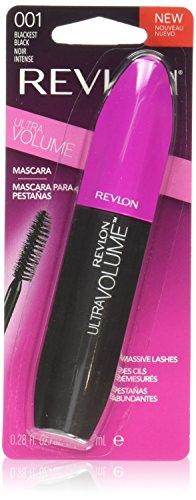 Revlon Ultra Volume Mascara, Blackest Black, 0.28 fl oz by Revlon