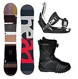 ZJJSC 2019 Attacchi completi for snowboard completi da uomo Fusion Legacy - Scarpe BOA - Dimensioni tavola 156 (Size : Boot Size 11)