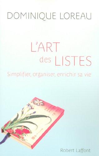 L'Art des listes par Dominique LOREAU