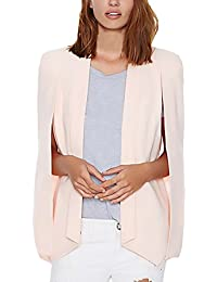 Mujer Blazer Talla Grande Único Elegantes Blazers Negocios Office Wear Tumblr Para Boda Fiesta Outcoat Celebración Moda Colores…