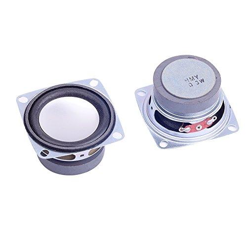 Altavoz de audio estéreo CLW1021, de rango total, 2unidades, 5 cm, 4...