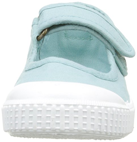 victoria Unisex-Kinder Mercedes Velcro Lona Tintada Sneaker Vert (160 Manzana)