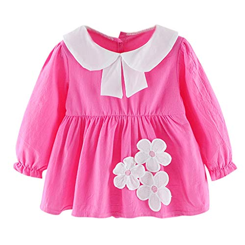 LEXUPE Kleidung Kinder Kinder MäDchen Lange ÄRmel Flower -