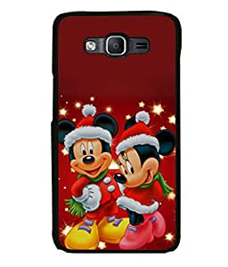 printtech Mickey Minni Mouse Christmas Back Case Cover for Samsung Galaxy On5
