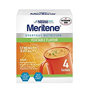 MERITENE Vegetable Soup, 281 g