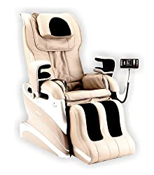 Home Deluxe | Massage chair | Siesta | Black | including complete accessories