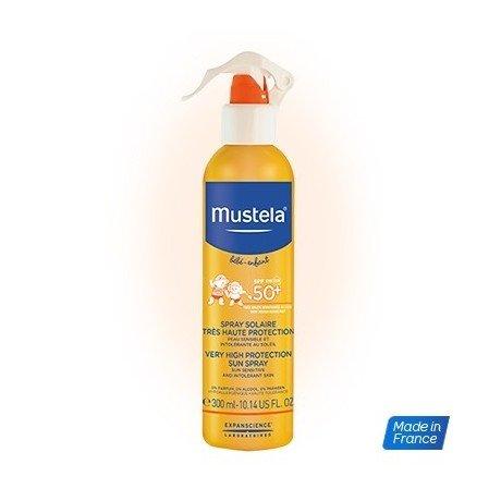 Mustela Spray Solaire pour tous les types de cuir–300ml