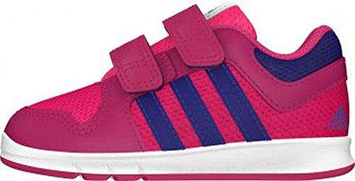 Adidas B40560 Dal 20 al 27 Sneakers Con Strappo Scarpe Bambini Ginnastica Sport Fuxia