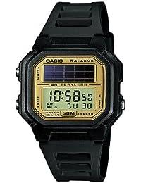 Casio CASIO Collection Men - Reloj digital de caballero de cuarzo con correa de resina negra (alarma, cronómetro,…