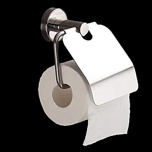 Toilettenpapierhalter ohne bohren mit ablage,Gewerblicher Papierhandtuchhalter aus Edelstahl für das Bad Wandmontierter Rollenhalter Spritzwassergeschützter Edelstahl 304 @ One_size_As_Shown