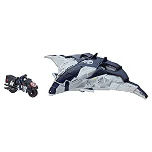 Avengers Age of Ultron Cycle Blast Quinjet Vehicle, Multi Color