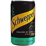 Schweppes Mini Limón Amargo Pueden 150Ml (Paquete de 2)