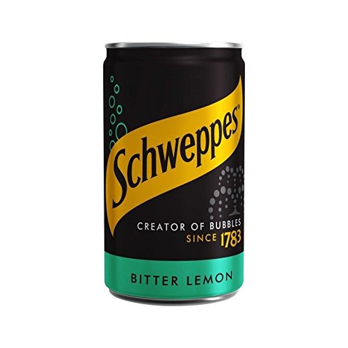 Schweppes Mini Citron Amer Peuvent 150Ml (Paquet de 2)