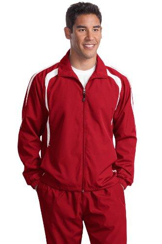 Sport-Tek Veste Colorblock Men's T-Shirt Rouge - True Red/White