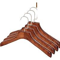 Log rack/ tinta legno antiscivolo hanger/ vestiti senza giunte prop/ stendini per uso domestico-F
