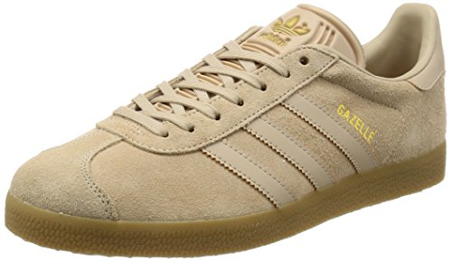 adidas Herren Gazelle Laufschuhe Beige (Clay Brown /clay Brown /gum 3)