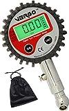 Vergo Digital Reifendruckmesser - 0-200 PSI / 0-14 BAR-Reifendruckprüfer-Präzision Reifendruck Messgerät für Geländewagen, Transporter, Sprinter, LKW, Fahrräder (mit Autoventilen), Motorräder Autos