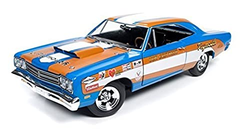 1969 Plymouth Roadrunner Hardtop Don Grotheer Limited Edition to 996pcs 1/18 by Autoworld AW220 by Plymouth
