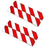 4x Garage Wandschutz | KFZ Auto Türschutzleiste | Autotüren Türschutz Rammschutz