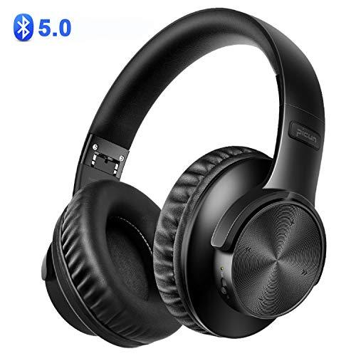 BAONUOR Bluetooth Kopfhörer 5.0, Kabelloser Kopfhörer Over-Ear, Stereo Sound mit Bass, Noise Cancelling Kopfhörer, drahtlos Kopfhörer mit Mikrofon, für iPhone, Samsung, Tablets und PC - Bluetooth-sound-cancelling