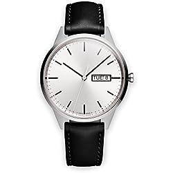 UNIFORM WARES C40 Armbanduhr - C40_BSI_01_NAP_BLK_1816R_01