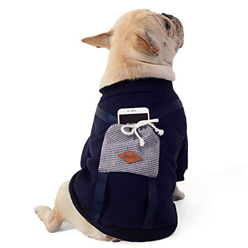WTNL Perro Queen Ropa Perro suéter Ocasional Capa