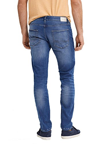 ESPRIT 037ee2b006 - Dynamic Denim, Jeans Uomo Blu (Blue Medium Wash)