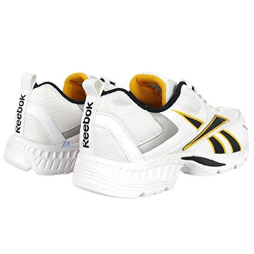Reebok dIAL sPEED/black/white/ath.yellow sukver Blanc - Blanc
