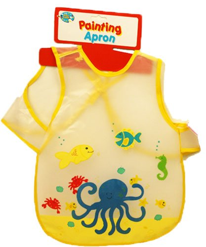 child-baby-boy-girl-painting-bib-apron-wipe-clean