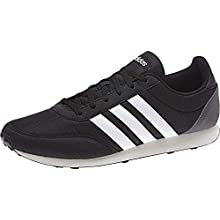 adidas V Racer 2.0, Men's Running Shoes, Black (Core Black/Ftwr White/Grey Five), 7.5 UK (41 1/3 EU)