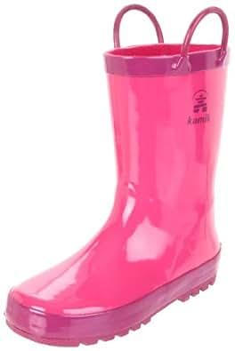 Kamik Squirt EK6298, Unisex - Kinder Stiefel, Pink (mag), EU 22 (US 5)