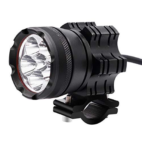Vaycally Universal Motorrad LED Lampe Aluminiumlegierung Scheinwerfer Nebelscheinwerfer Scheinwerfer Fahrhilfslicht Helle Augen IPX6 Voll Wasserdicht 4000 Lumen 6 LED Scheinwerfer -