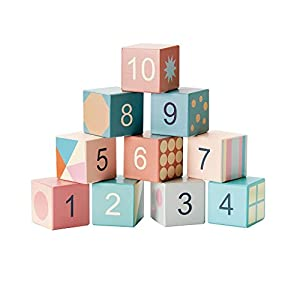 Kids Concept- RompecabezasPuzzles encajables y rompecabezasKids ConceptBuilding Blocks Edvin, Multicolor (1)