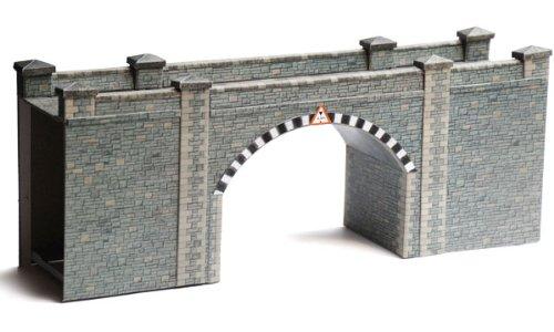 Superquick Stone Bridge / Tunnel - 1/72 OO/HO - Card Model Kit by Superquick