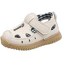 3cce49fd8 Berimaterry Sandalias niña Niñas Zapatos bebés Niños Sandalias de Verano  para niñas Chica Zapatillas Planas Bowknot
