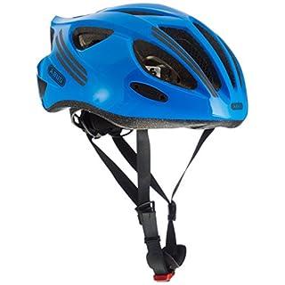 Abus S-Cension Fahrradhelm, Neon Blue, 54-58 cm