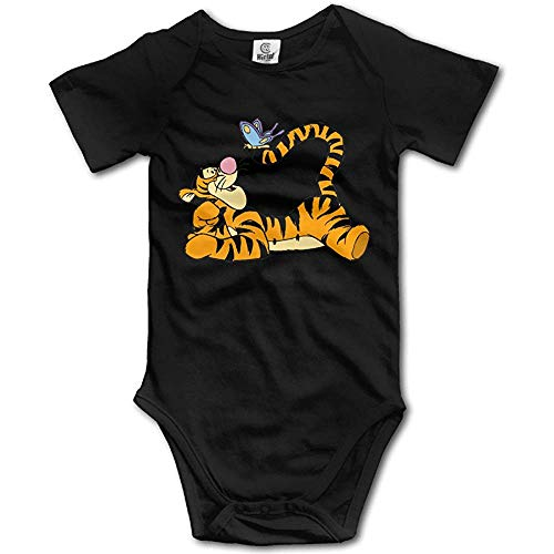 Nubia Tigger Butterfly Short Sleeve Jumpsuit Vest White 6Months -