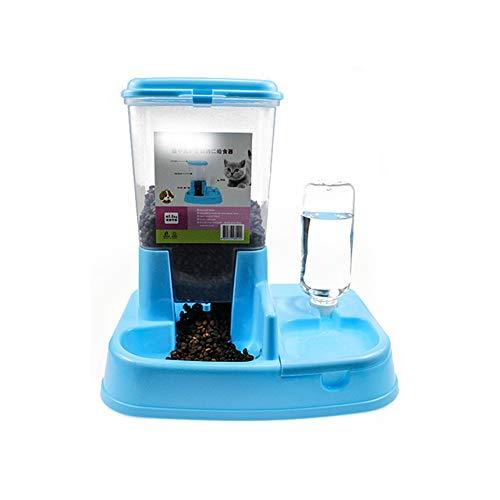 Automatische Zufuhr, Hundeschüssel Automatische Trinkbrunnen Heimtierbedarf Katze und Hundefutter Schüssel Doppel Schüssel